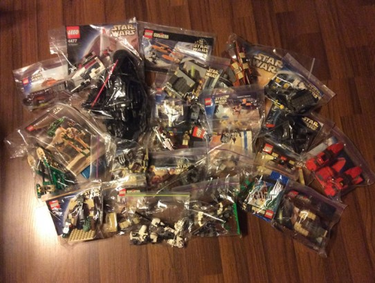 22 Star Wars Lego Sets