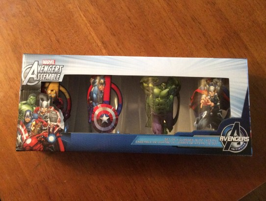 Marvel Avengers Assemble - Set of Four Glasse