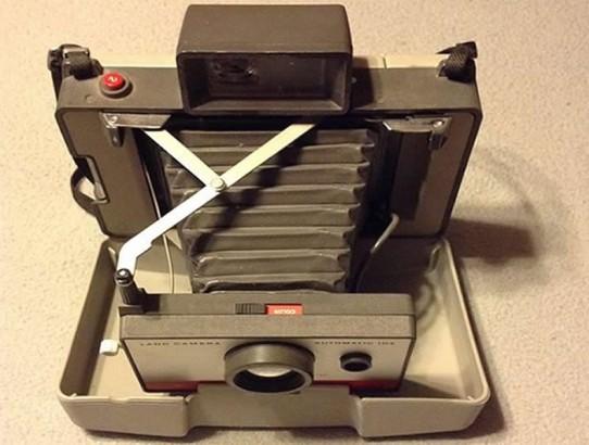 Old Polaroid Instant Camera