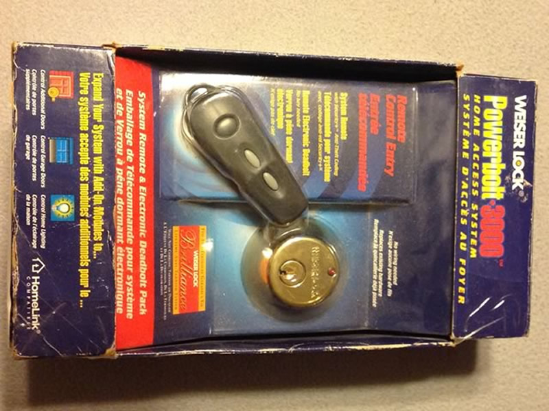 Weiser Door Lock