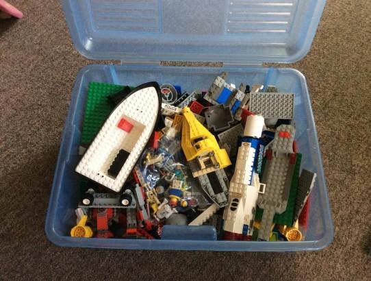 Bin Of Lego