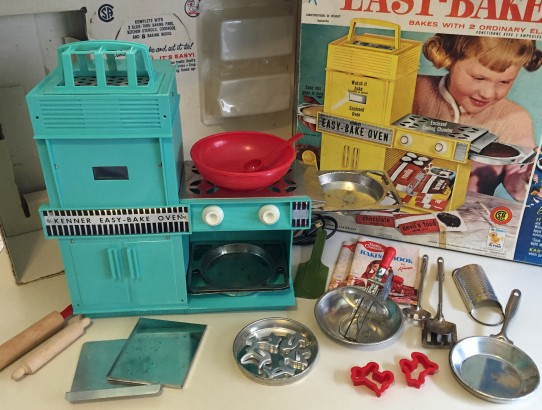 vintage 1964 kenner easy bake over
