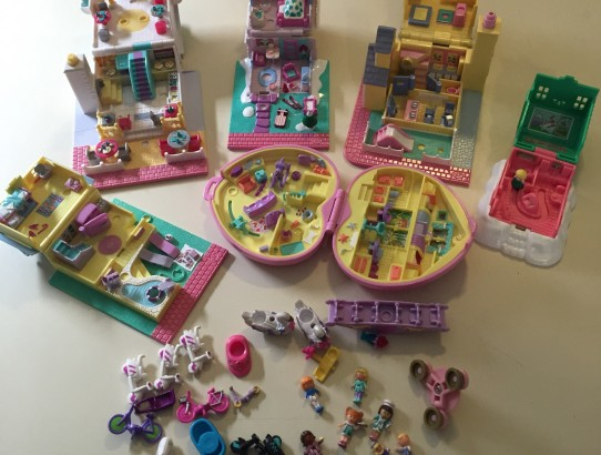 polly pocket houses